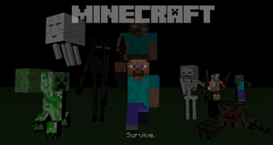 Minecraft by Americanaooni