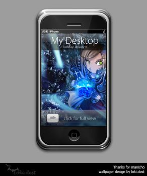 iphone wallpager - Hypnus by lokidest