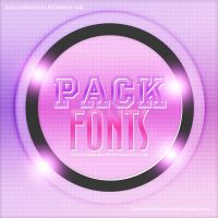 Pack  De Fonts by Loveyoulikealoves