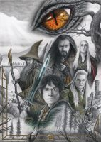 The Hobbit: The Desolation of Smaug by Bajan-Art