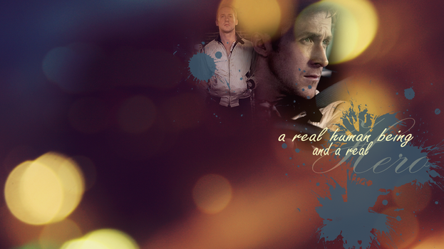 A Real Human Being - Drive Wallpaper by RefriedBean