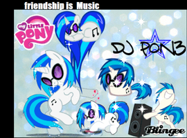 DJ PON3 Bling by BonBonTheBunnie