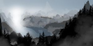 Fog's Rest by kw9015