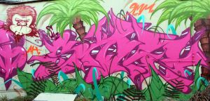 jungle pink by SANS-01-2-MHC-BS