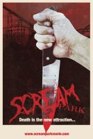 Scream Park Movie Poster 2 by mentalshed
