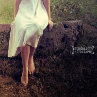 White dress by cetrobo