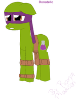 MLP + TMNT - Donatello by RavynMadison