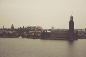 The city hall of Stockholm by mkrtchyan
