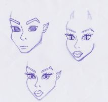 New faces by Trouble-star