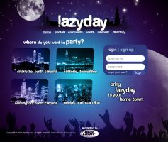 LazyDay Layout by pedrosampaio