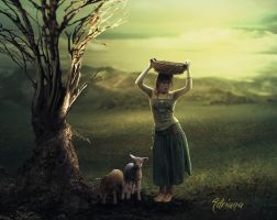 Shepherdess by Adriana-Madrid