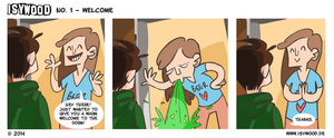 ISYWOODSTRIP No. 1 - Welcome by isywood
