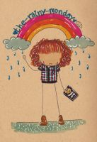 The Rainy Monday- Competition Prize by Pinkie-Perfect