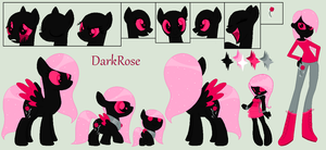 DarkRose Ref (Big) by PyscoSnowflake