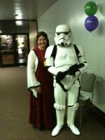 My mom and the storm trooper by ichigostrawberry95