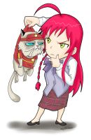 This Grumpy Cat is a part Timer? by Ray-D-Sauce
