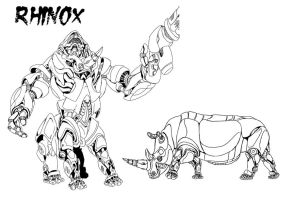 BW The Movie: Rhinox RobotMode by Gozer-The-Destroyor