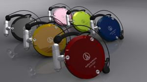 Persona 3 Color Earphones by Ryujin10