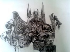 Optimus WIP by SpectralTiger