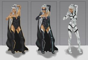 STORM : Alt Costumes by mikestimson2003