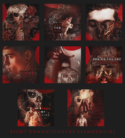 Demon Icons by Glamourgirlizeme
