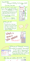 SAI toot -- That Handwriting Thing with Borders by LILI-exec