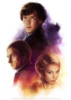Sherlock: Three by Risachantag