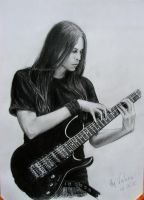Guitarist by long-haired-lady