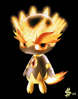 Fake Fire Legendary by Esepibe