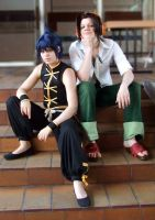 Shaman King: Ren and Yoh by chibinis-chan