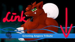 in HD: Grinning Angora Tribute by Wolfwrathknight