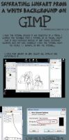 TUTORIAL: Lineart on GIMP by rimirinchan