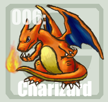 006 Charizard by Pokedex
