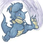 nidoqueen spinfall by runde