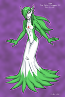 Liam the male Pokemon FR Gardevoir by The-Clockwork-Crow