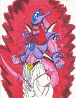 Ultimate Omega Buu (Hatchiyack, Janemba Absorbed) by DBZ2010
