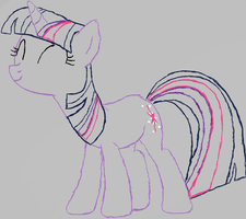 Twily Lineart by centerdave77