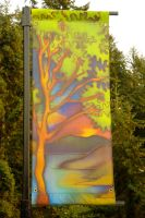 Lions Bay Banner Project, 2009 by TamlinSky