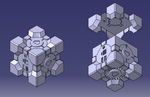 Companion Cube OUYA by TheCloudWalker