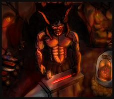The HellSmith - Lord Azazel by ArshnessDreaming