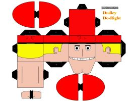 Dudley Do-Right Cubee by iamtherealbender