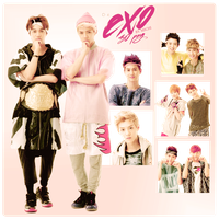EXO - PNG PACK by michiru92