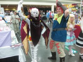 Groose and Ghirahim by IceMagePathfinder