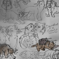 EFxSF Sketchpage by That-CrazyCat
