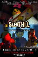 Brick Movie Silent Hill: Town In Bricks Poster by Digger318