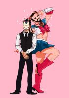 Fox Mask Man Feat. LadyBeard by tohdaryl