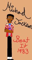 Michael Jackson_Beat it by karutimburtonfan