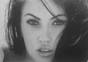 Megan Fox (graphite) by agothbr