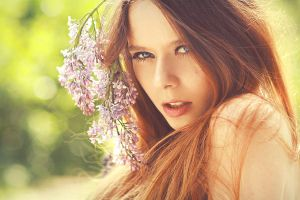 Miss Spring. by Mijagiphotography
