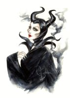 Maleficent by ChocotanYuu